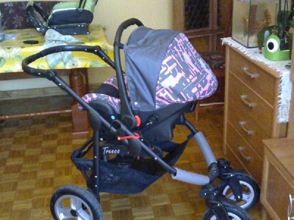 Wózek Dziecięcy Wielofunkcyjny 3w1 Hitreec Firmy Emjot.  3