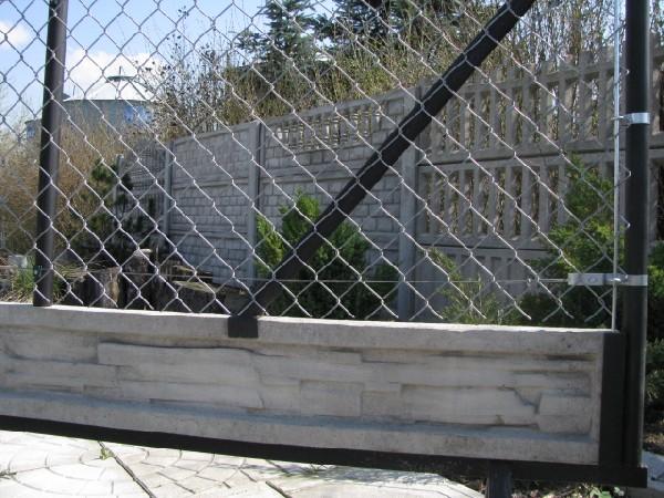 Ogrodzenie wraz z podmurówką