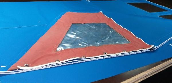 Naprawa Przedsionki Campingowe, Szycie Parasole Altany, Pokrycia Na Lodzie  5